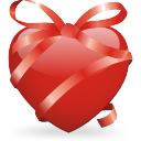 Ribbon Heart - Free icon #196433