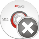 Remove CD - icon gratuit #196683