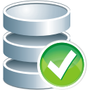Database Accept - icon gratuit #197543