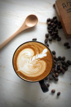 Coffee latte art - image #197853 gratis