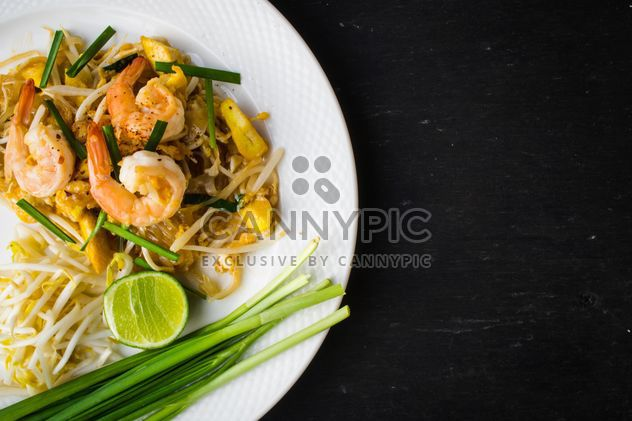 Thai food on a plate - Free image #197923