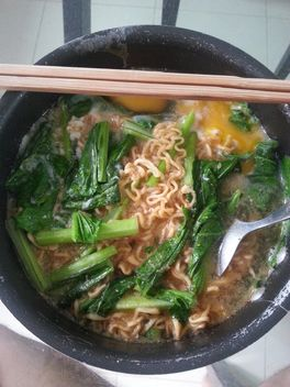 Tom yum Noodles with eggs - Free image #198103