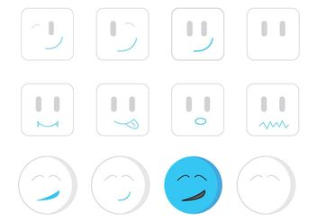 Random Emotions - Free vector #199063