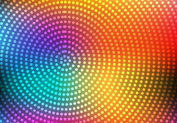 Free Colorful Abstract Circle Vector - Kostenloses vector #199183