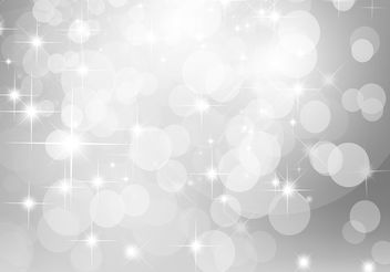 Silver Glitter Background Vector - Free vector #199473