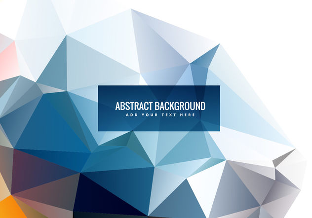 Abstract polygonal vector shapes - Free vector #199853