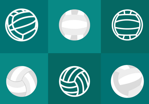 Volleyball Vector - vector gratuit #200123