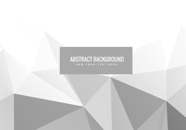 White abstract geometric vector - Free vector #200303