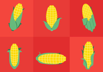Ear Of Corn - vector gratuit #200463