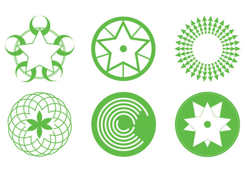 Crop Circles - vector gratuit #200603