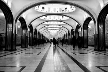 Architecture of Mayakovskaya station - image gratuit #200723