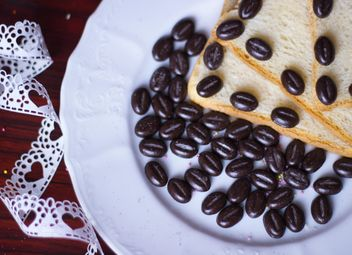 bread and coffee - image gratuit #201113