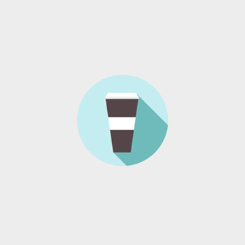 Free Vector To Go Coffee Icon - Free vector #201753