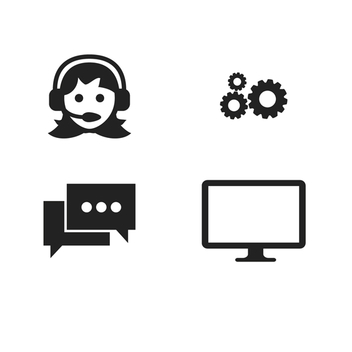Work and Office Vector Icons - vector #201793 gratis