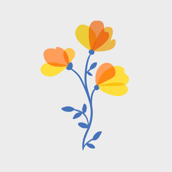 Free Vector Spring Bouquet - бесплатный vector #201823