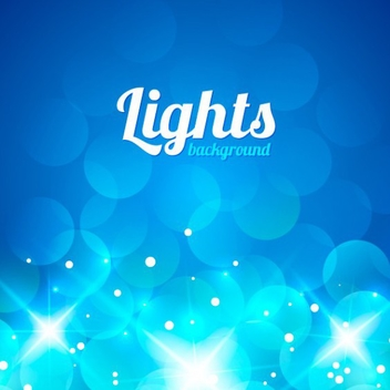 Free Vector Bokeh Light Background - бесплатный vector #202023