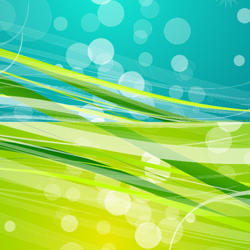 Green and Blue Background - Kostenloses vector #202143