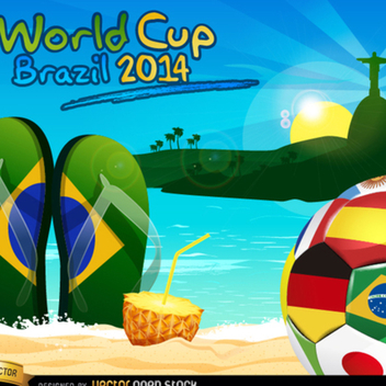 Free Vector Soccer Ball World Cup - Free vector #202303