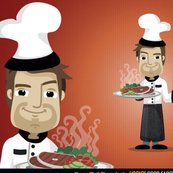Free Vector Chef - Free vector #202383