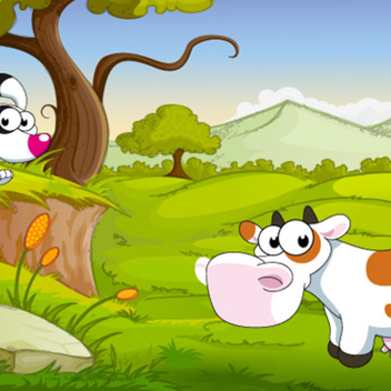 Free Cartoon Animal Vector Farm - Free vector #202553