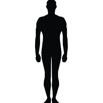 Free Vector Human Silhouette - Kostenloses vector #202563