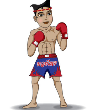 Free Thai Boxing Vector - бесплатный vector #202583