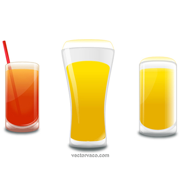 Free Vector Drinks - бесплатный vector #202603