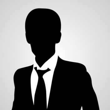 Free Vector Business Man Avatar Silhouette - Free vector #202693