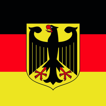 Germany Vector Flag - vector gratuit #202793