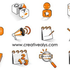 Internet Icons - vector #202803 gratis
