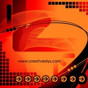 Abstract Creative Background - vector gratuit #202823