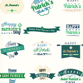 St. Patrick's Day Vector Elements - бесплатный vector #202843