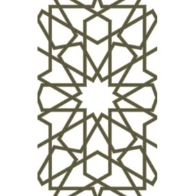 Moorish Lattice 2D Pattern - vector #202923 gratis