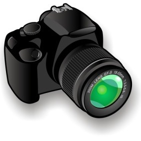 Camera Icon - Kostenloses vector #203023