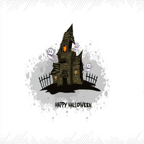 Free Halloween Illustration #4 - Kostenloses vector #203043