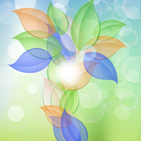 Abstract Artistic Vector - vector #203143 gratis