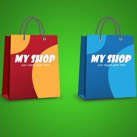 Shopping Bag - Kostenloses vector #203333