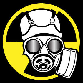 Radiation Mask Vector - vector gratuit #203593