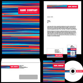 Vector Stationery Kit - Free vector #203753