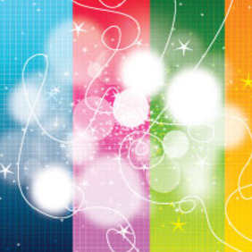 Art Lines Blur Design In Colored Background - vector gratuit #203883