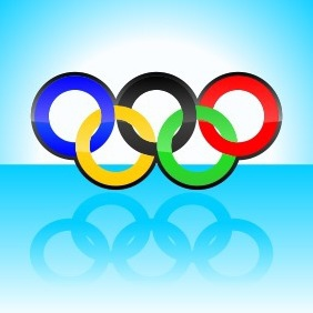 Olympic Rings - vector gratuit #204053