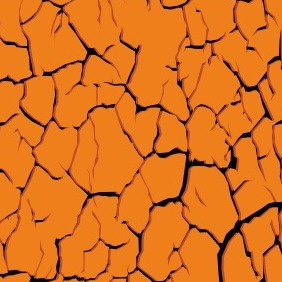 Dry Cracked Soil - vector gratuit #204063