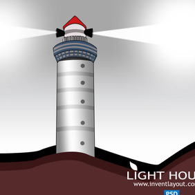 Lighthouse PSD - vector gratuit #204123