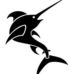 Swordfish Clip Art - Free vector #204433