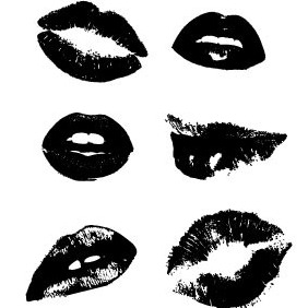 Lips Vector Collection - vector gratuit #205033