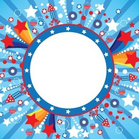 Fourth Of July - Free vector #205053