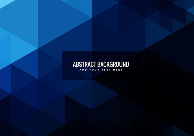 Abstract geometric shapes background - vector gratuit #205093