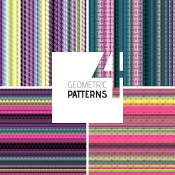 Geometric Patterns - vector gratuit #205373