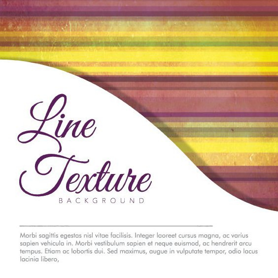 Line Texture Background - Free vector #205383