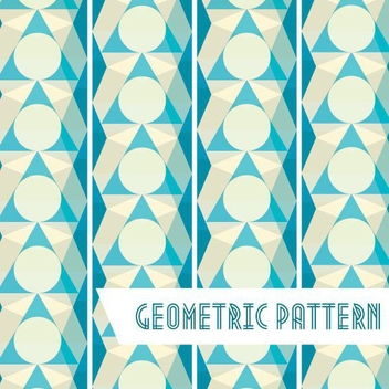 Geometric Pattern Background - vector #205703 gratis